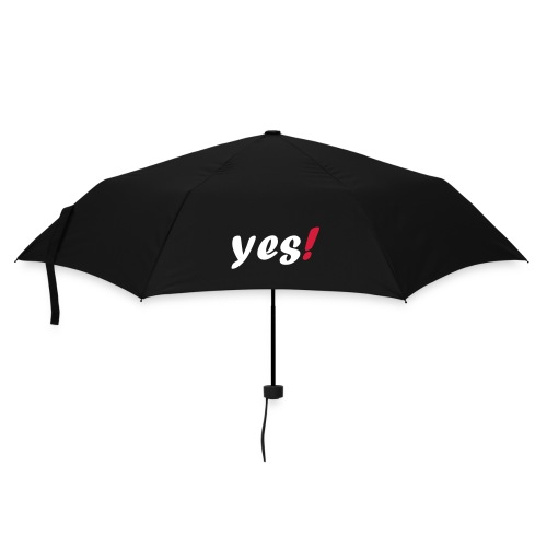 + Umbrella with the word yes! on it - Umbrella (small)