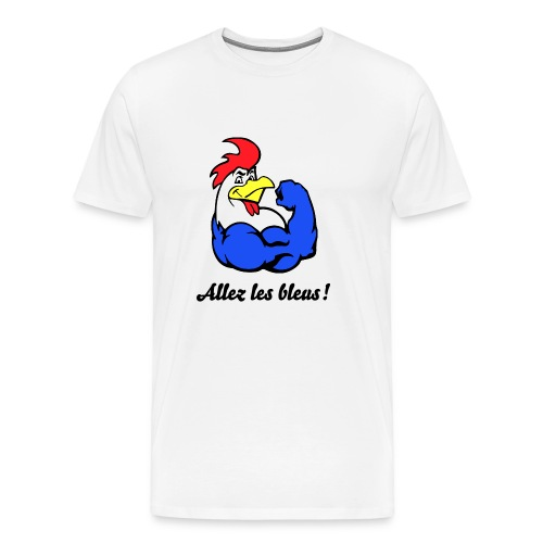French Rooster - Men's Premium T-Shirt