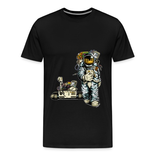 Radio Modul Men Shirt Astronaut - Men's Premium T-Shirt