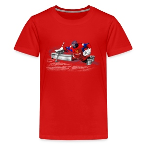 russian goalkeeper T-Shirts - Teenager Premium T-Shirt
