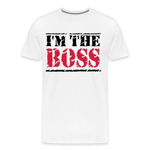 Tee shirt I'M THE BOSS - T-shirt Premium Homme