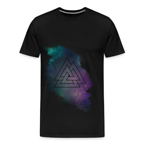 Tee shirt GALAXY triangle  - T-shirt Premium Homme