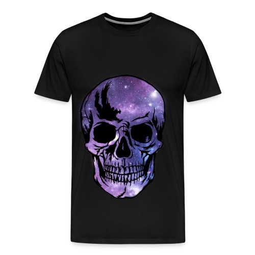Tee shirt GALAXY tête de mort - T-shirt Premium Homme