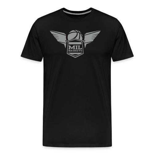 Grey Logo Shirt - Männer Premium T-Shirt
