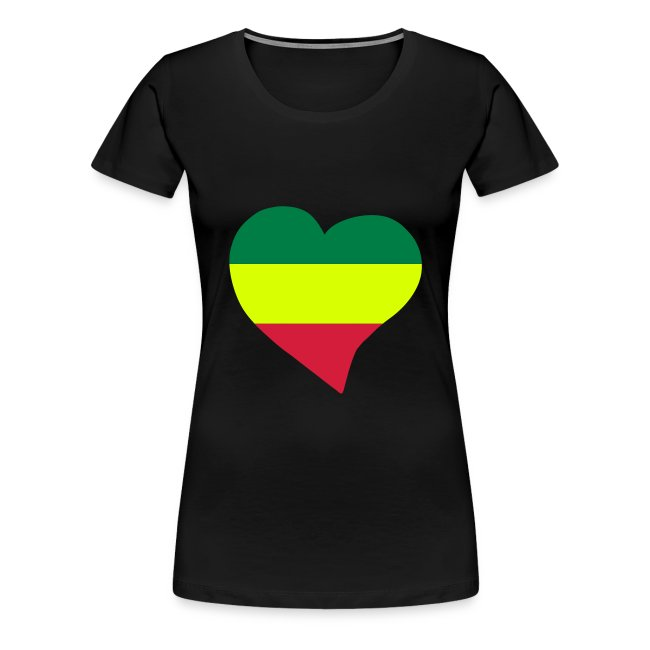 Tee FemmeT Shirt Tee Shirt Rasta Premium DWIYE2H9