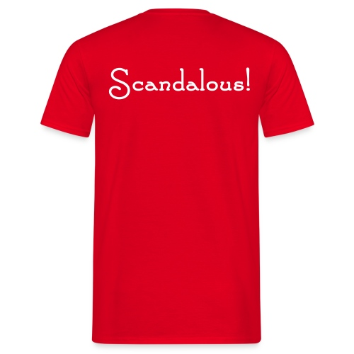Bardcore - Scandalous T-shirt - Men's T-Shirt