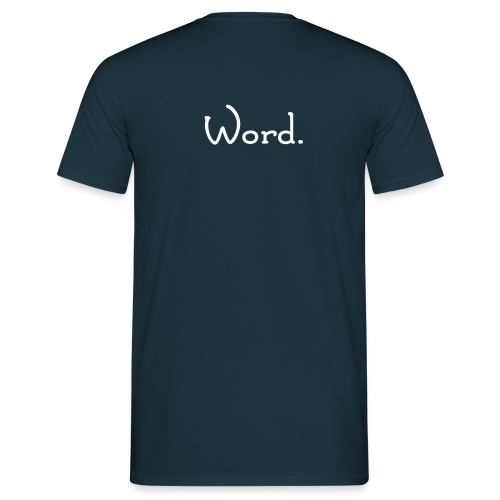 Bardcore - Word- T-Shirt - Men's T-Shirt