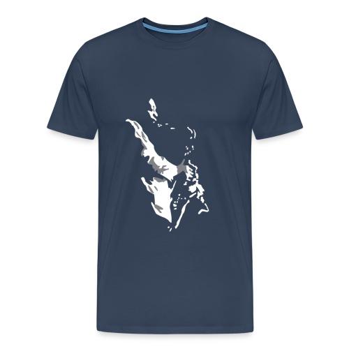 New Orleans Sax - Men's Premium T-Shirt