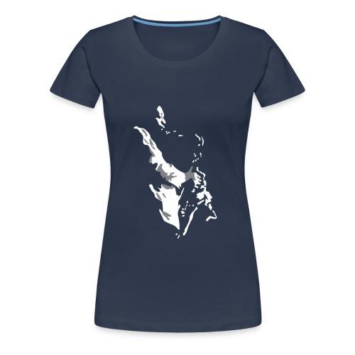 New Orleans Sax - Women's Premium T-Shirt