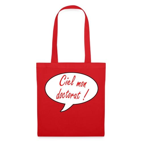 Sac rouge en tissu - Tote Bag