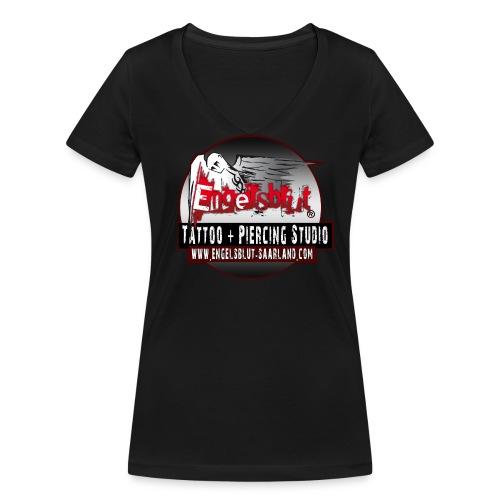 Engelsblut Girl - Frauen Bio-T-Shirt mit V-Ausschnitt von Stanley & Stella