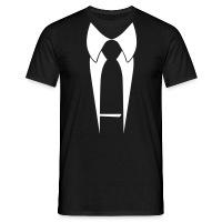 Anzug Männer T-Shirt