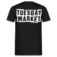 Logo Tuesday Market Männer T-Shirt