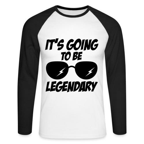It's going to be Legendary (Langærmet Trøje) - Langærmet herre-baseballshirt