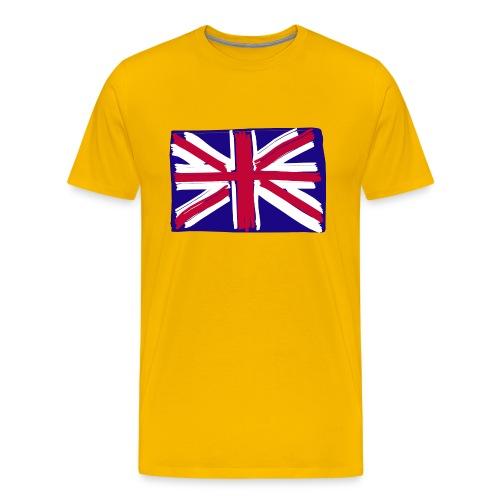 Men's Premium T-Shirt - union jack,flag,United Kingdom,UK Fahne,UK,Männer,GB,Flagge,Fahne