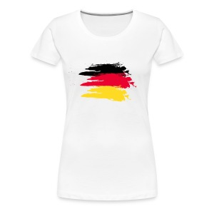 German flag girl - Women's Premium T-Shirt