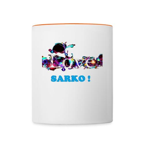TASSE LOVE SARKO - Mug contrasté