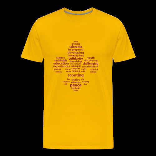 Scouting is... - Men's Premium T-Shirt