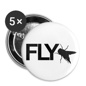 Button Fly - Buttons klein 25 mm