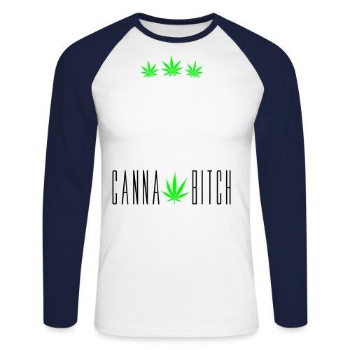 Cannabitch Tee Shirt - T-shirt baseball manches longues Homme