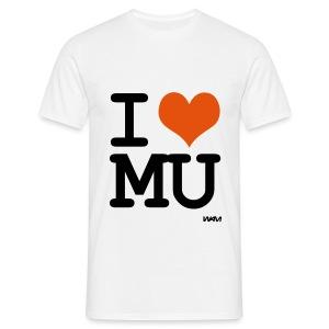 I HEART Manchester United - Men's T-Shirt