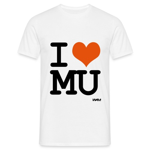 I HEART Manchester United - Men's T-Shirt