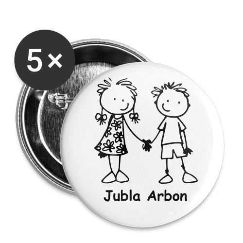 Buttons Jubla Arbon - Buttons mittel 32 mm