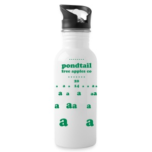 One sided print, text colour changeable - Water Bottle