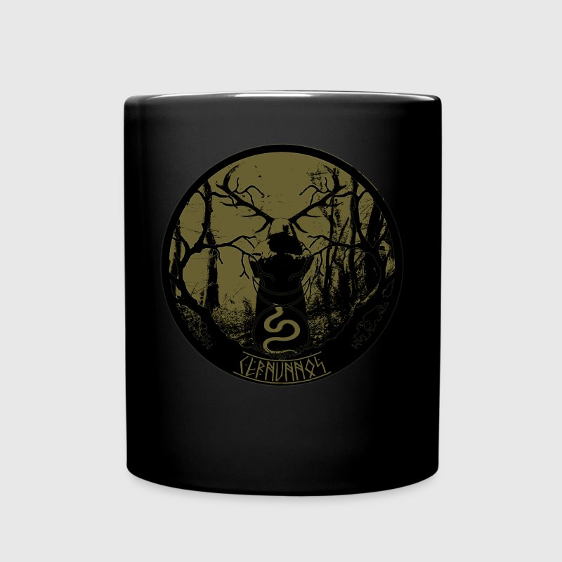 cernunnos- celtic pagan lord of the woods  - Full Colour Mug
