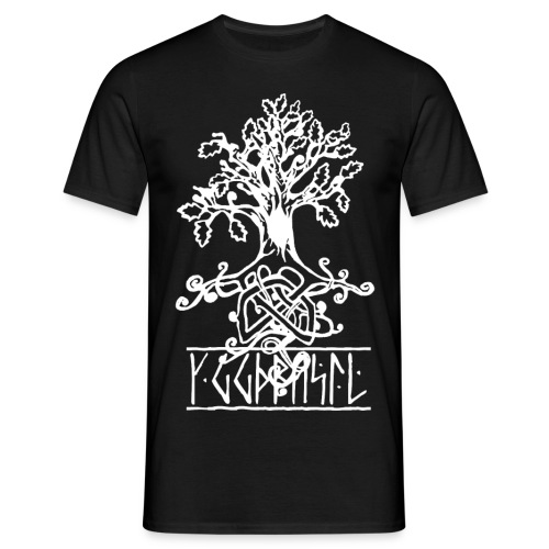 yggdrasil- viking tree of life - Men's T-Shirt