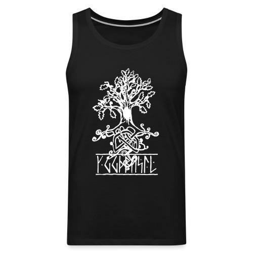 Yggdrasil- Viking/ Norse tree of life - Men's Premium Tank Top