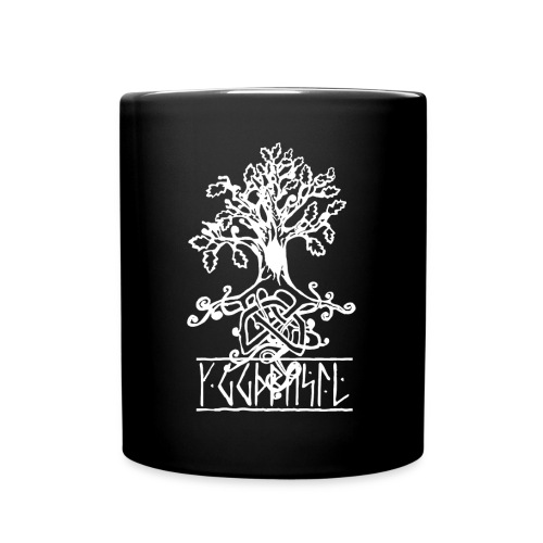 yggdrasil- viking tree of life - Full Colour Mug