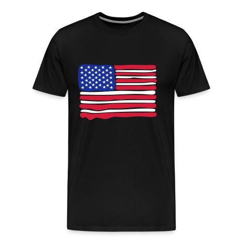 USA flag gents - Men's Premium T-Shirt