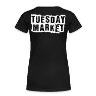 Logo Tuesday Market Frauen Premium T-Shirt