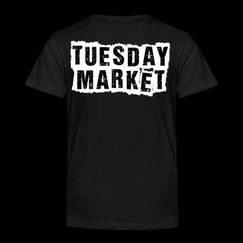 Kinder T-Shirt Tuesday Market Bandlogo 1 - Kinder Premium T-Shirt