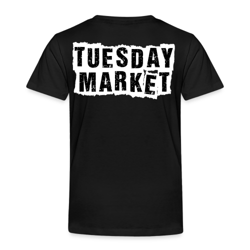 Kinder T-Shirt Tuesday Market Bandlogo 1 - Kinder Premium T-Shirt