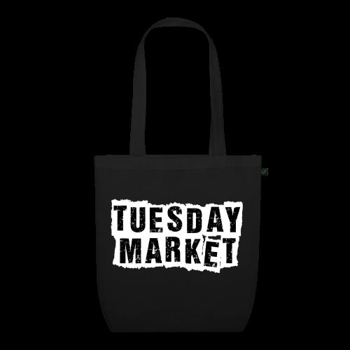 Stofftasche Tuesday Market Bandlogo - Bio-Stoffbeutel