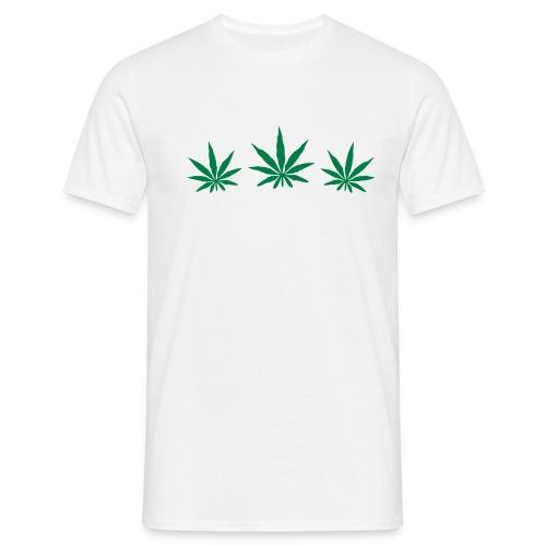3 Weed Tee. - Men's T-Shirt