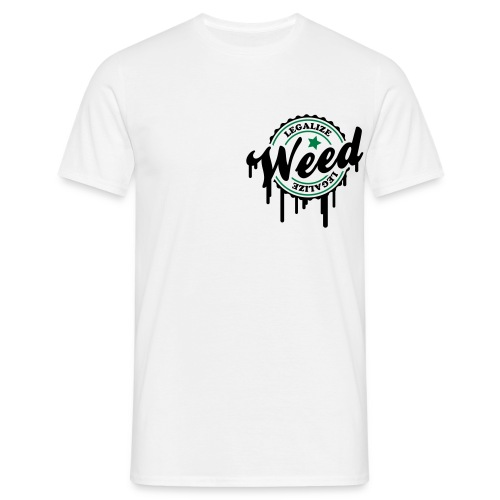 Legalize Weed Tee. - Men's T-Shirt