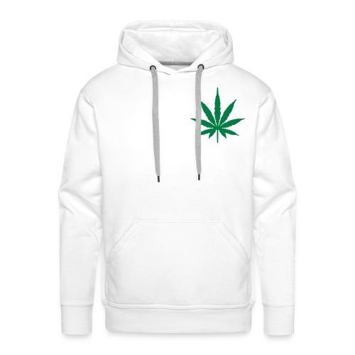 Ganja Leaf Hoodie. - Men's Premium Hoodie