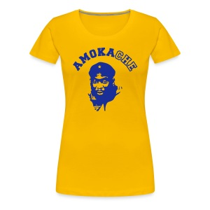Women's AMO t-shirt (yellow) - Women's Premium T-Shirt