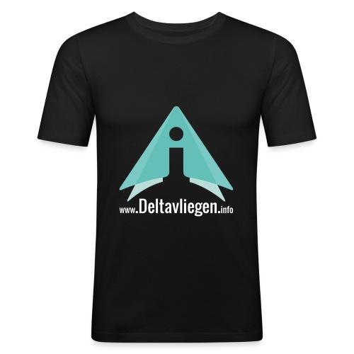Deltavliegen.info T-shirt - slim fit T-shirt