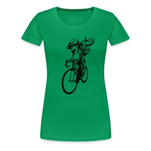 Cycling. I do. - Frauen Premium T-Shirt