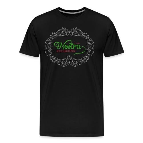 A casa di tifoso nero - Men's Premium T-Shirt