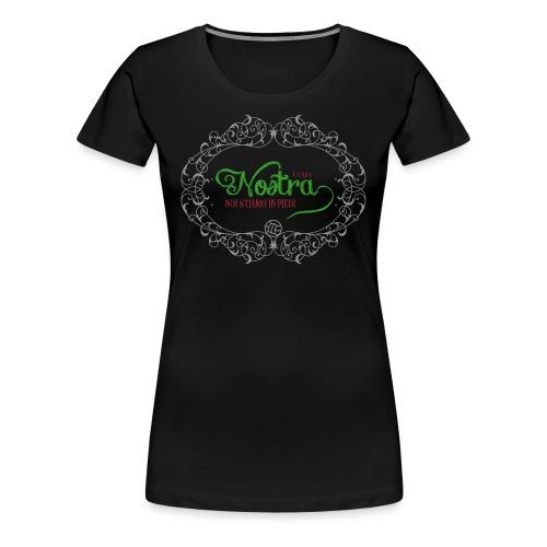 A casa di tifosa nero - Women's Premium T-Shirt