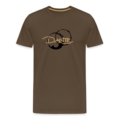 DANTE - Men - PREMIUM brown - Männer Premium T-Shirt