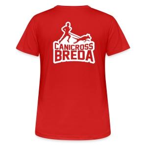 Canicross Breda Sportshirt Vrouw - vrouwen T-shirt ademend