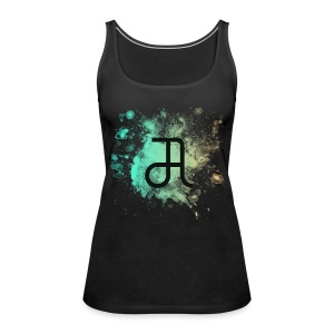 Glyphe Northern Lights Tank Top ♀ - Frauen Premium Tank Top