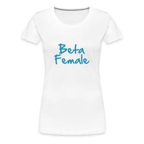 Beta Female - white - Maglietta Premium da donna
