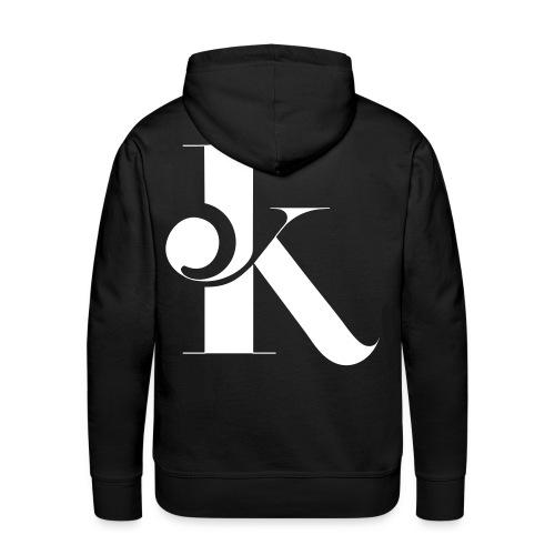 K Back - Sweat-shirt à capuche Premium pour hommes